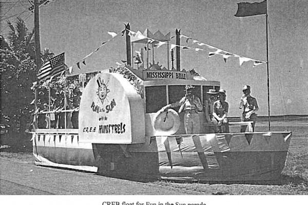 1968-Fun-in-the-Sun-Cairns-Regional-Electricity-Board-CREB-Float-Einstein-Events